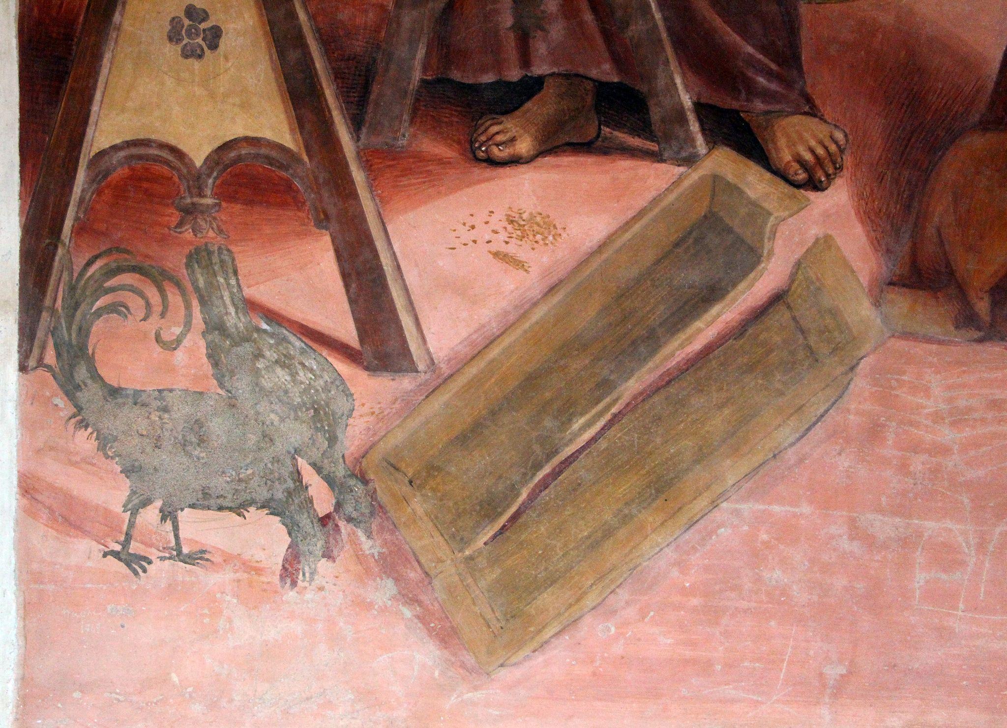 Storie di s. benedetto, 03 sodoma - Come Benedetto risalda lo capistero che si era rotto 03