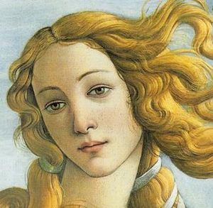 Simonetta Vespucci, a native Ligurian who was a famous beauty during the Renaissance, may have been the model for Botticelli's The Birth of Venus Strabismo di Venere - Botticelli.jpg