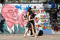 Street Scene with Graffiti - Near Botanical Gardens - Rio de Janeiro - Brazil.jpg