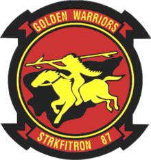 Strike Fighter Squadron 87 (US Navy) insignia 2015.png