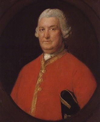 Stringer Lawrence - Portrait by Thomas Gainsborough, National Portrait Gallery, London