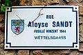 Stroosseschëld Rue Aloyse-Sandt zu Bech-Maacher-101.jpg