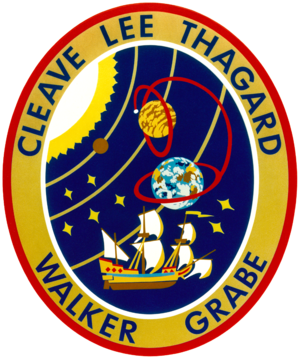 Mark C. Lee - Image: Sts 30 patch