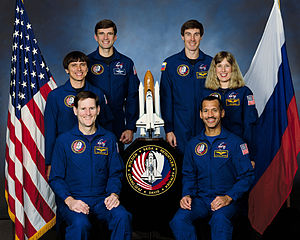 STS-60 - Image: Sts 60 crew