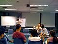 Students taking part in a BarCamp at Ngee Ann Polytechnic, Singapore - 20090228.jpg