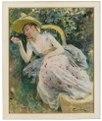 Study for Rokoko, 1888 (Carl Larsson) - Nationalmuseum - 18837.tif