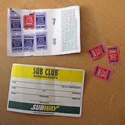 Sub Club Cards and Sub Club stamps