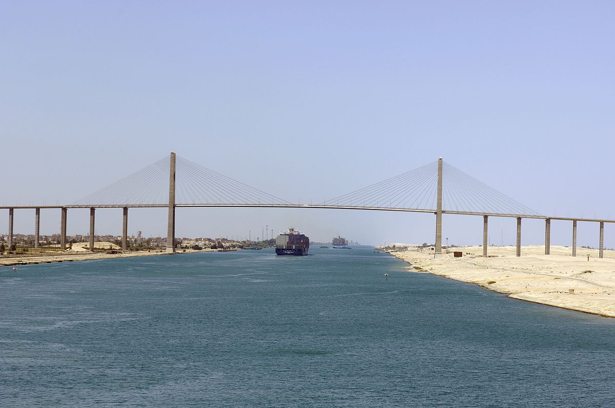 Valued Image Set The Suez Canal Bridge