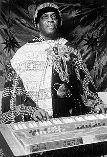 Sun Ra American jazz composer and bandleader