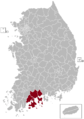 Suncheon Postal central office precinct map.png