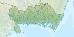 Sweden Blekinge relief location map.png