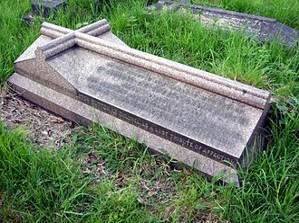 Sydney Cotton - Funerary monument, Brompton Cemetery, London.