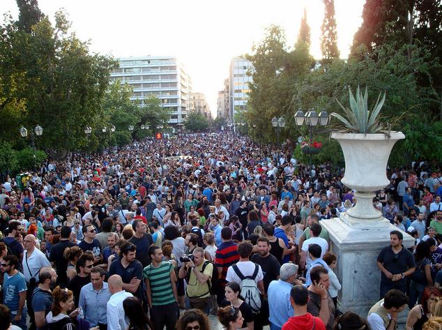 Syntagma Square %27indignados%27