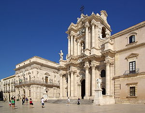Roman Catholic Archdiocese of Siracusa - Cathedral of Syracuse