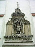 Szeged, alsóvárosi templom, Mátyás király, oldalbejárat