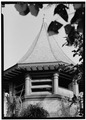 TELEPHOTO OF CHURCH TOWER ROOM FROM WEST - Bethesda-By-The-Sea, 549 North Lake Trail, Palm Beach, Palm Beach County, FL HABS FLA,50-PALM,2-5.tif