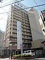 TOYOKO INN Osaka Hankyu Juso station west entrance.JPG
