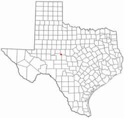 Location of Miles, Texas