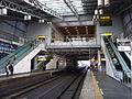 Tabata Station Stairwell.jpg