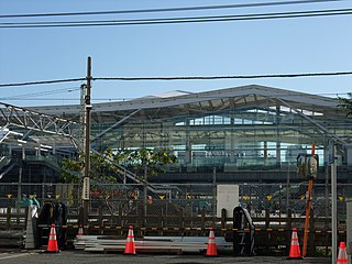 Takanawa Gateway Station New JR East railway station to be opened in 2020, of which located in Minato, Tokyo.