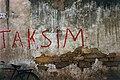 Taksim graffiti in Nicosia late 1950s.jpg