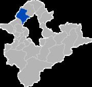 淡水鎮位置圖