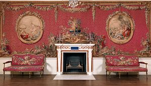 Croome Court - The Tapestry Room, now at the Metropolitan Museum