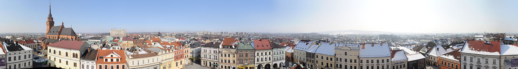 Tarnow City Hall Tower view.jpg