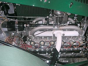 Tatra 80 - Tatra T80 V12 engine