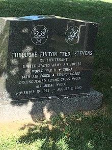 Stevens's grave
