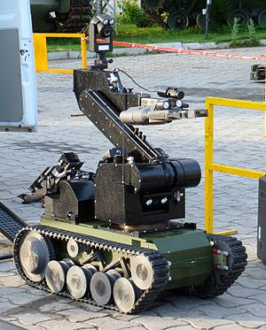 TEDAX - Bomb disposal robot Telerob tEODor of the Spanish Army