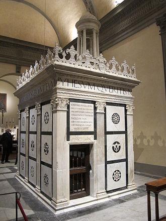 Rucellai Sepulchre - Image: Tempietto dell'alberti restaurato, 08