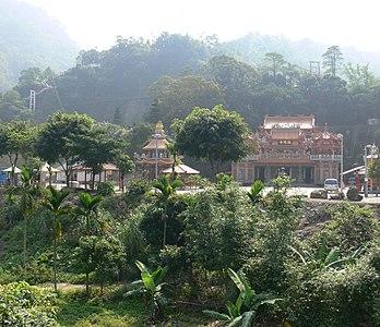 Longyin Temple of Chukou Village in Alishan National Scenic Area.