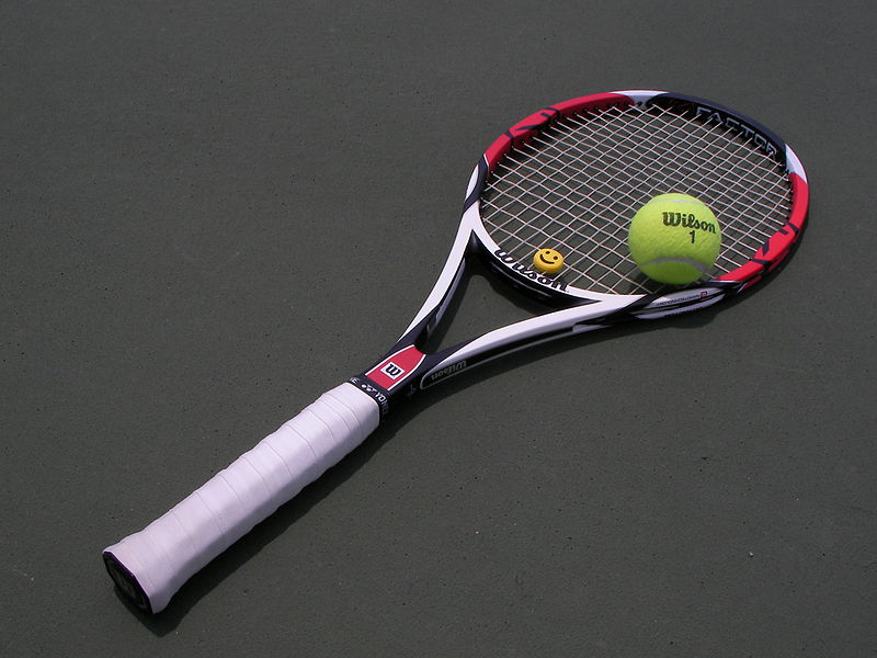 File:Tennis racket and ball.JPG