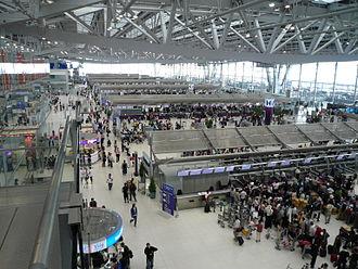 Suvarnabhumi Airport - Terminal interior