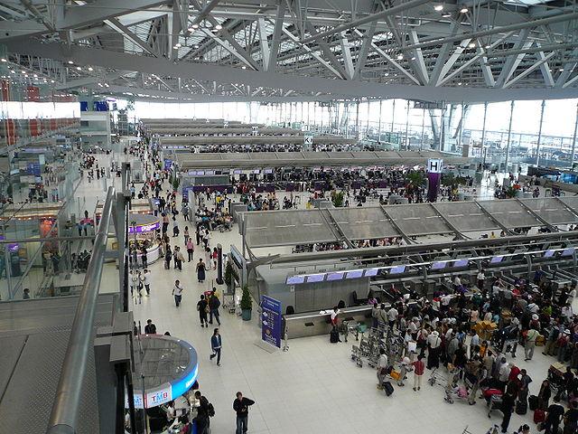 Aéroport de Bangkok-Suvarnabhumi