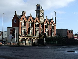 The Bartons Arms pub in Aston, Birmingham, England