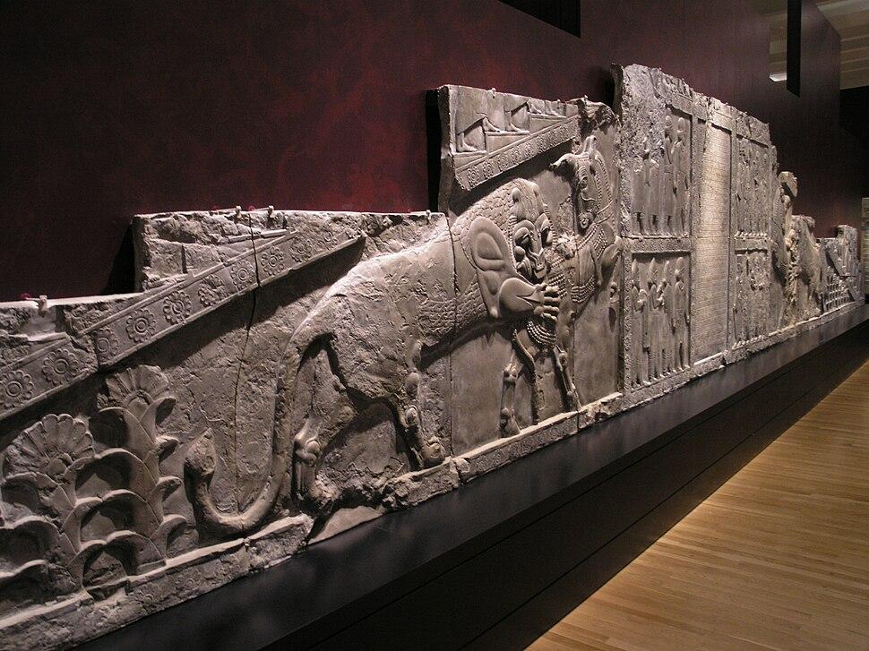 The British Museum, Room 5-Persepolis Bas-relief