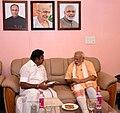 The Chief Minister of Tamil Nadu, Shri Edappadi K. Palaniswami meeting the Prime Minister, Shri Narendra Modi, in Coimbatore, Tamil Nadu on February 24, 2017.jpg