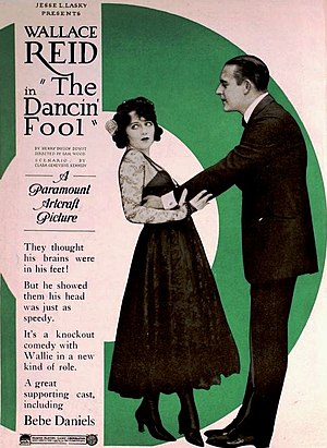 The Dancin' Fool - Ad for the film