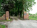 The Driveway To Aughton Hall - geograph.org.uk - 214581.jpg