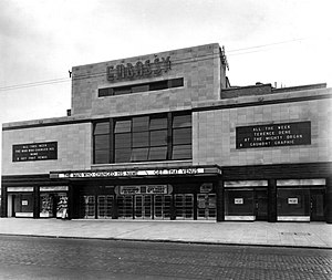 The Embassy Cinema - Facade by Day (1934)