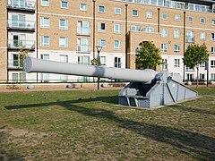 The Gibraltar Gun, Woolwich (01).jpg
