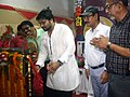 The Minister of State, Heavy Industries and Public Enterprises Shri Babul Supriyo lighting the lamp at the launch of the India Post Payments Bank (IPPB), at Asansol, West Bengal on September 01, 2018.JPG
