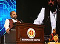 The Minister of State for Home Affairs, Shri Hansraj Gangaram Ahir addressing the inaugural session of the 27th Global Conclave organised by the International Institute of Security and Safety Management, in New Delhi (1).jpg