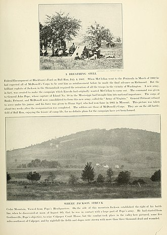 Battle of Cedar Mountain - Image: The Photographic History of The Civil War Volume 02 Page 027