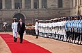 The President of the Socialist Republic of Vietnam, Mr. Tran Dai Quang inspecting the Guard of Honour, at the Ceremonial Reception, at Rashtrapati Bhavan, in New Delhi on March 03, 2018.jpg