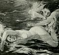 The Pursuit - Nudes Swimming by Charles Shannon.jpg