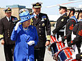 The Queen and Adm Jonathon Band in 2006.JPG