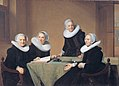 The Regentesses of the St. Elisabeth's Hospital in Haarlem by Johannes Cornelisz Verspronck.jpg